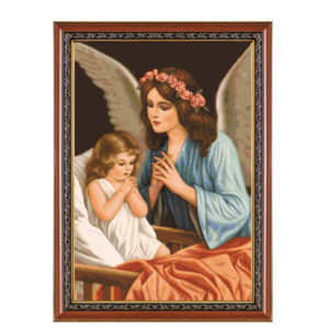 "Гоблен ""Ангелска молитва""- DMC конци"
