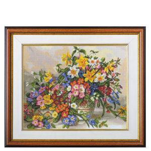 """Гоблен """"Цветна феерия"""", по картина на Алберт Уилиамс"""
