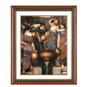 Гоблен Данаиди по картина на Джон Уотърхаус