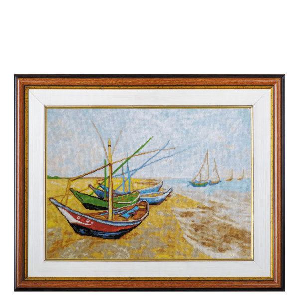 Гоблен Лодки - Ван Гог