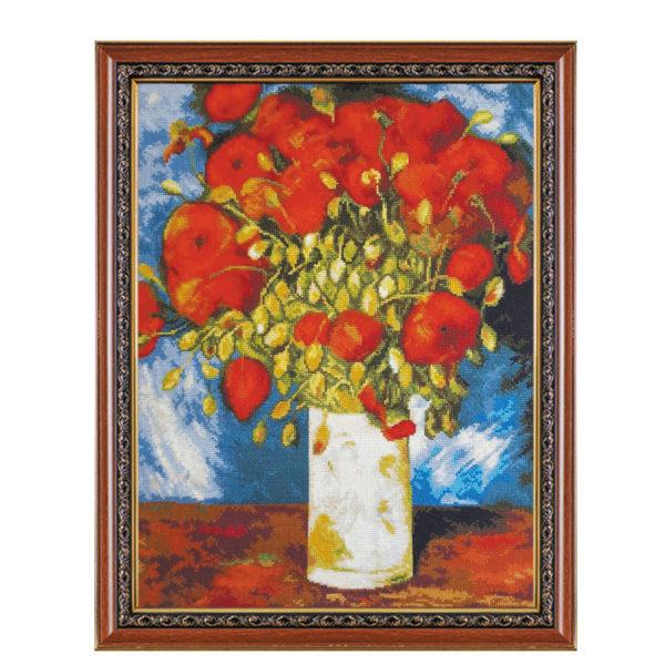 Гоблен Ваза с Макове художник Винсент Ван Гог