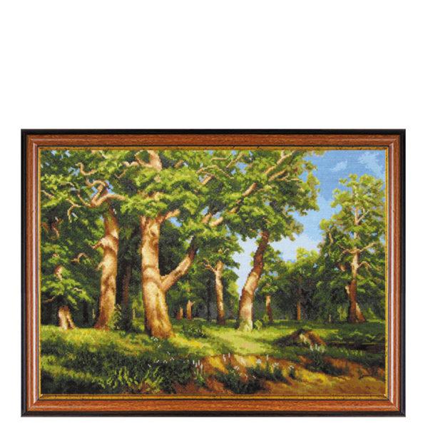 Гоблен Дъбова гора - художник Иван Шишкин