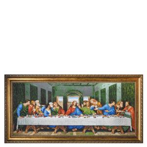 """""""Тайната вечеря """" малък модел - 44 цвята DMC - художник Леонардо да Винчи"""