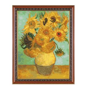 Гоблен Ваза със слънчогледи Ван Гог