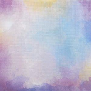 Цветна печатана панама Аида Цветове на дъгата
